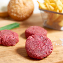 Organic Black Angus mini beef burger