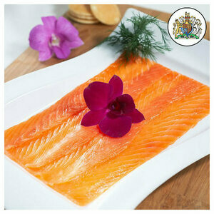 Scottish Smoked and sliced Salmon