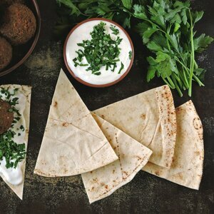 White Lebanese Bread