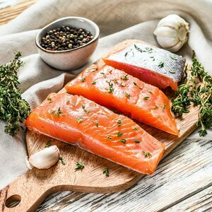 Scottish Salmon Portions